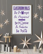 Classroom Rules 16x24 Poster lifestyle-holiday-poster-1