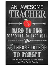 An Awesome Teacher 16x24 Poster front