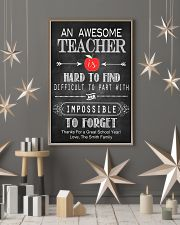 An Awesome Teacher 16x24 Poster lifestyle-holiday-poster-1