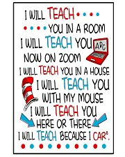 I will Teach 16x24 Poster front