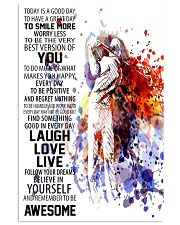 Laugh Love Live 16x24 Poster front