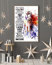 Laugh Love Live 16x24 Poster lifestyle-holiday-poster-1