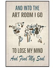 And into The Art Room 16x24 Poster front