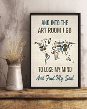And into The Art Room 16x24 Poster lifestyle-poster-3