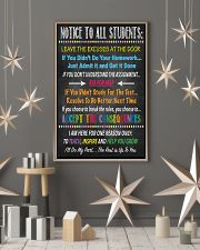 Notice to all Students 16x24 Poster lifestyle-holiday-poster-1