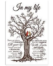 In my life 16x24 Poster front