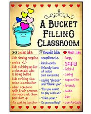 A Bucket Filling Classroom 16x24 Poster front