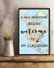 Welcome to my Classroom 16x24 Poster lifestyle-poster-3