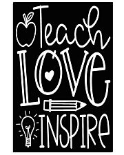 Teach Love 16x24 Poster front