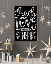 Teach Love 16x24 Poster lifestyle-holiday-poster-1
