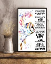 Barn Owl 16x24 Poster lifestyle-poster-3
