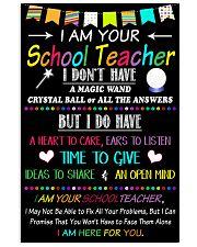 School Teacher 16x24 Poster front