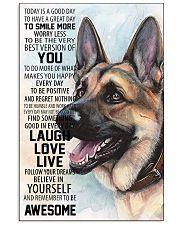 German Shepherd Dog 16x24 Poster front