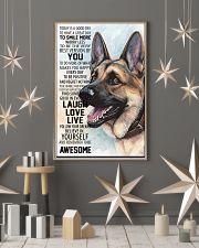 German Shepherd Dog 16x24 Poster lifestyle-holiday-poster-1