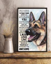 German Shepherd Dog 16x24 Poster lifestyle-poster-3
