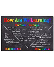 How Are Learning 2 24x16 Poster front