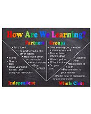 How Are Learning 2 Horizontal Poster tile