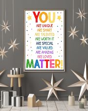 You Matter Classroom 16x24 Poster lifestyle-holiday-poster-1