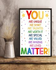 You Matter Classroom 16x24 Poster lifestyle-poster-3