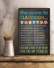 When you enter This Classroom 16x24 Poster lifestyle-poster-3