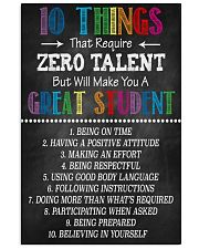 Great Student 16x24 Poster front