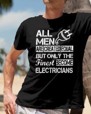 Electrician Classic T-Shirt lifestyle-mens-crewneck-front-11