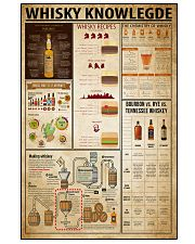 Whisky Knowledge 16x24 Poster front