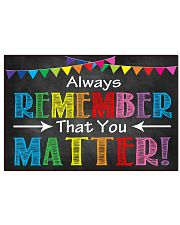 Always Remember 17x11 Poster front