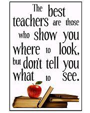 Teacher 16x24 Poster front
