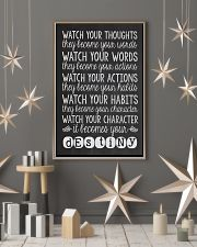Watch Your Thoughts 16x24 Poster lifestyle-holiday-poster-1