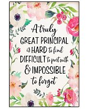 A trully Great Principal 16x24 Poster front