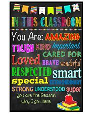In This Classroom 16x24 Poster front