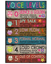 Voice Levels 16x24 Poster front