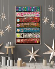 Voice Levels 16x24 Poster lifestyle-holiday-poster-1