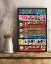 Voice Levels 16x24 Poster lifestyle-poster-3