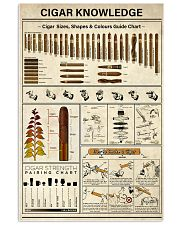 Cigar Knowledge 16x24 Poster front