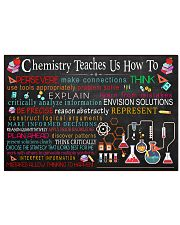 Chemistry Teaches Us How To 17x11 Poster front