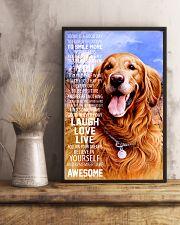 Golden Retrievers 16x24 Poster lifestyle-poster-3