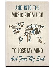 And into the music room I Go 16x24 Poster front