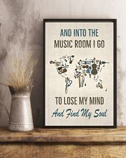 And into the music room I Go 16x24 Poster lifestyle-poster-3