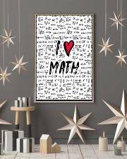 I love Math 16x24 Poster lifestyle-holiday-poster-1