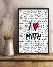I love Math 16x24 Poster lifestyle-poster-3