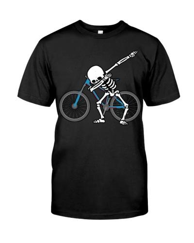 Dabbing Skeleton Cycling