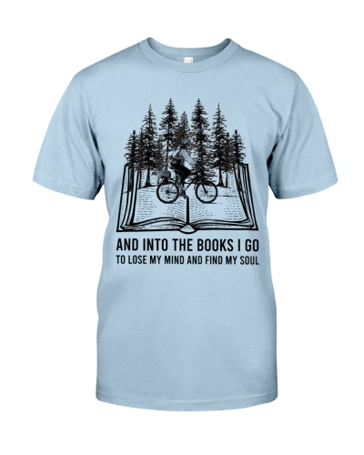 And Into The Books I Go Cycling