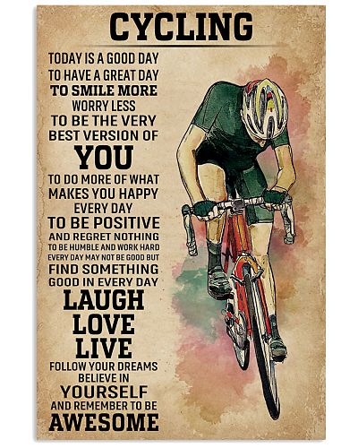Today Is A Good Day Cycling