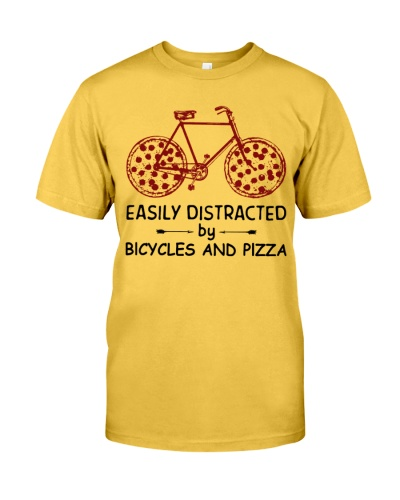Easily Distracted By Bicycles And Pizza Cycling