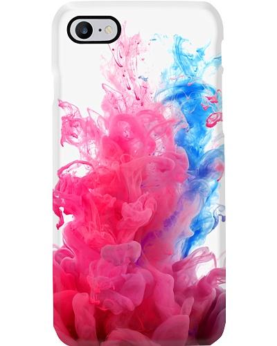 iPhone X Smoky Ink Case