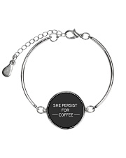 She persist for Coffee Metallic Circle Bracelet thumbnail