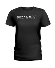 Spacex Ff Elon Musk Tesla Engineer Falcon Heavy En Ladies T-Shirt thumbnail