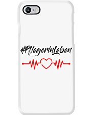 Fplegerin-Leben Phone Case tile